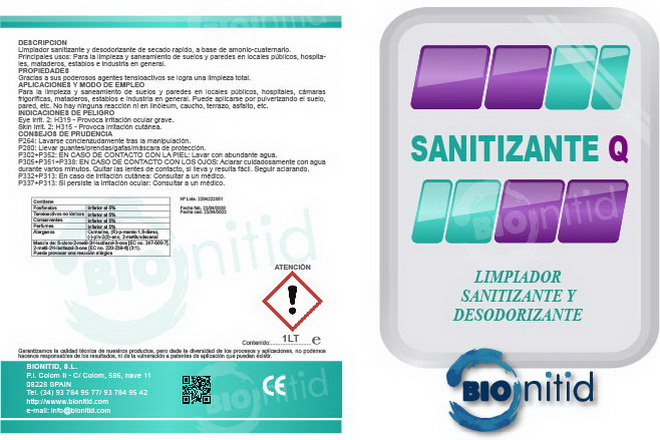 Sanitizer-Q Bionitid, suitable to combat coronavirus